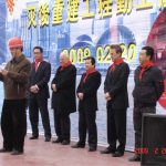 Contractor representative pledged their commitments to the Project