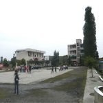 School campus cleaned up and ready for reconstruction