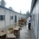 Temporary shelters provided by the Provincial Government shortly after the earthquake 3